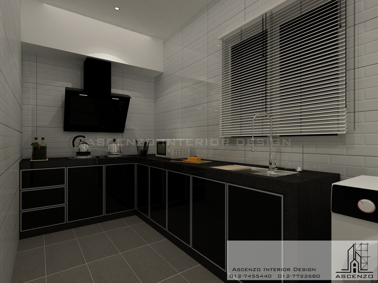 3d kitchen 108