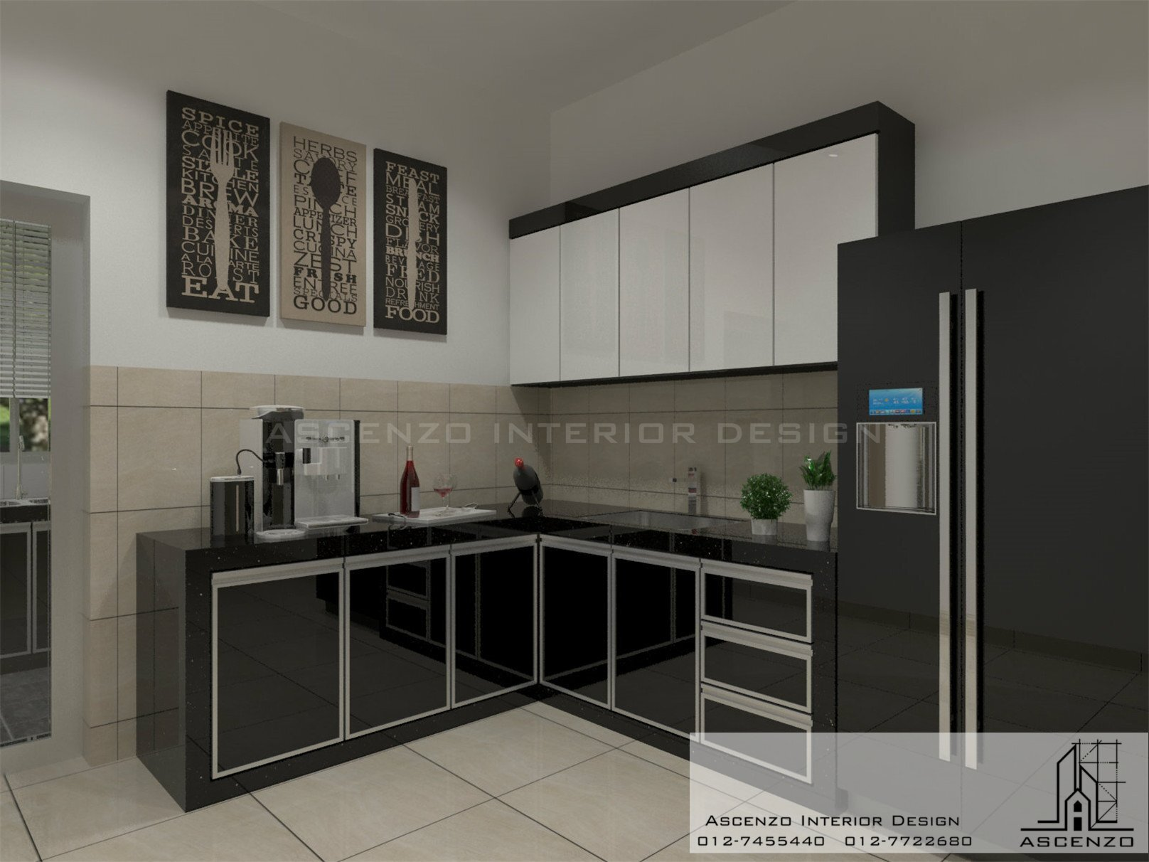 3d kitchen 124