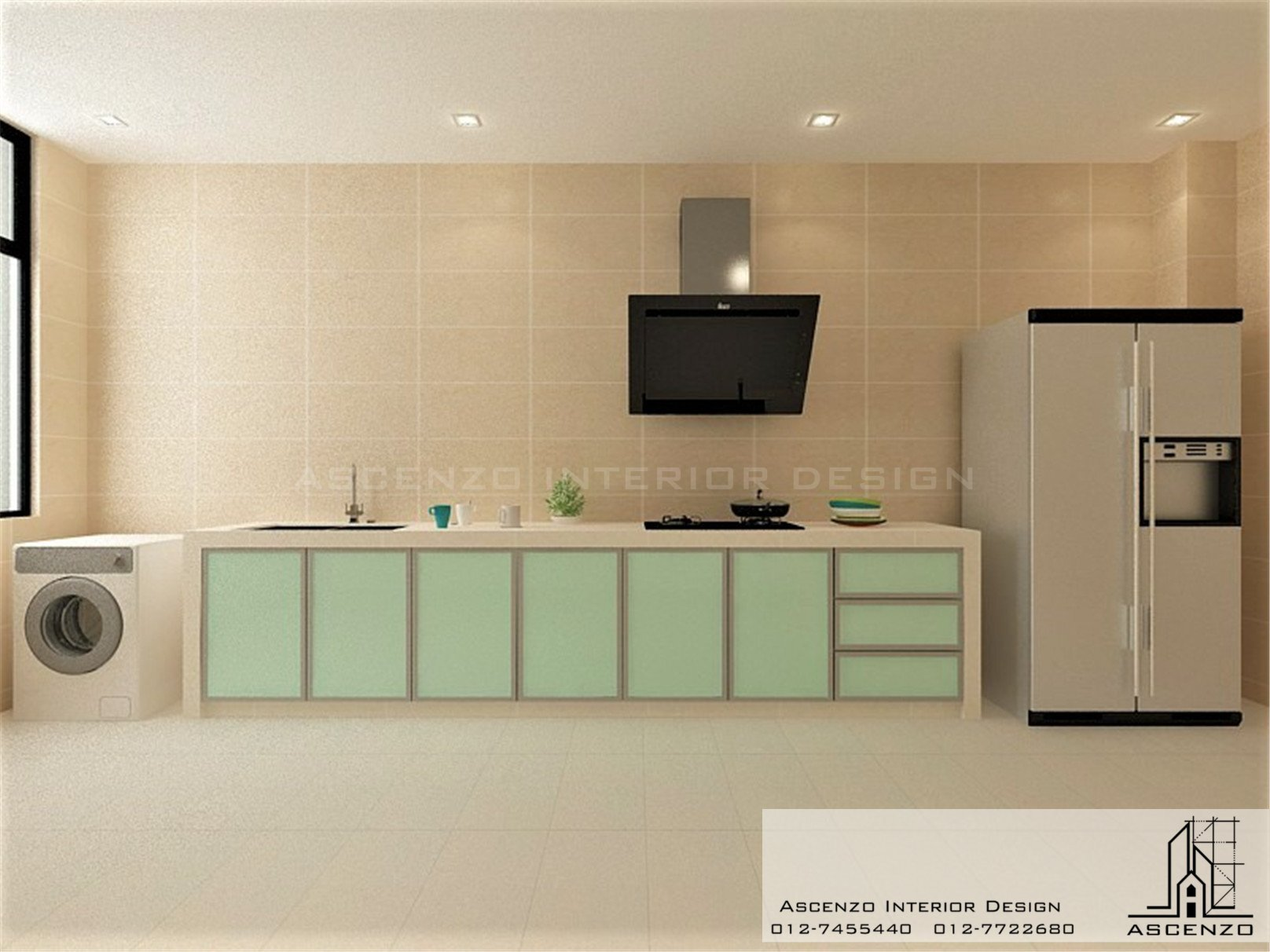 3d kitchen 136